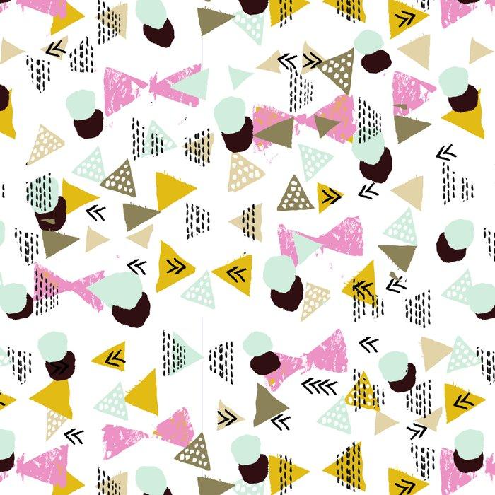 Dotty Tri abstract minimal texture brushstroke boho minimalism painting hipster geometric dorm  Leggings
