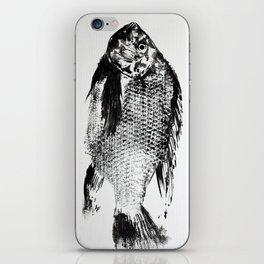 gyotaku - koi fish iPhone Skin
