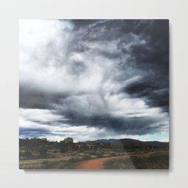 Santa Fe Sky Metal Print