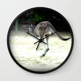 Poetry in Motion Wall Clock