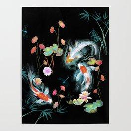 Japanese Water Garden Poster