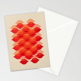 Ogee orgy - Soraya's autumn Stationery Cards