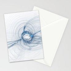Fractal Design in Soft Purple Pastel Stationery Cards