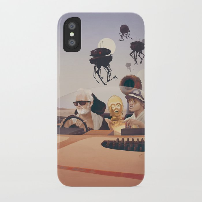 Fear and Loathing on Tatooine iPhone Case