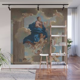 Poussin -the assumption of the virgin Wall Mural
