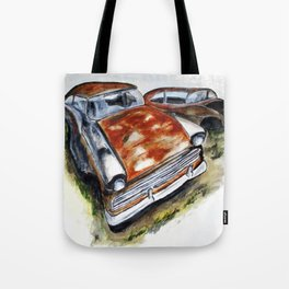 Junk Car No. 10 Tote Bag