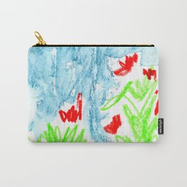 dancing flowers Carry-All Pouch