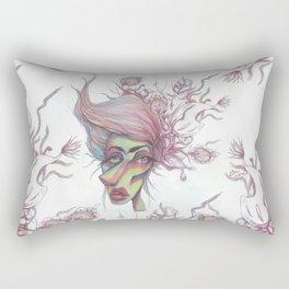 Sorting through Weeds Rectangular Pillow