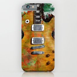 Gary Moore's and Peter Green's electric guitar iPhone Case