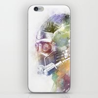 star lord iPhone & iPod Skins featuring Star-Lord by NKlein Design