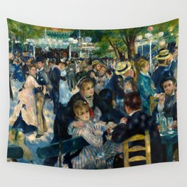 Renoir - Dance at Le Moulin de la Galette Wall Tapestry