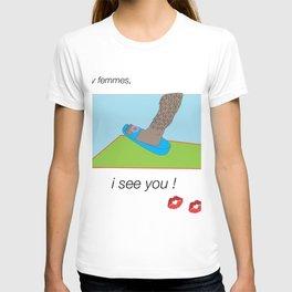 hey femmes T-shirt