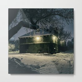 Old Building, the Battlefields Park, Quebec Metal Print