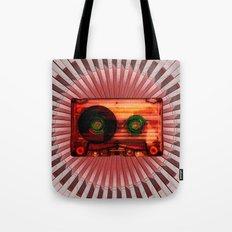 FUNKY VINTAGE AUDIOTAPE Tote Bag