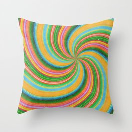 Feeling Dizzy Yet Throw Pillow