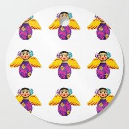 Mexican Purple Angels Cutting Board