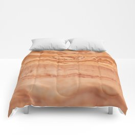 Olive wood board texture Comforters