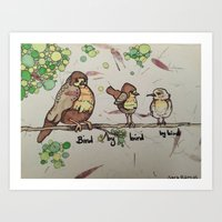 Bird By Bird Art Print