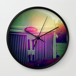 Sunset grill Wall Clock