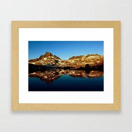 Sunrise in the Sierras Framed Art Print