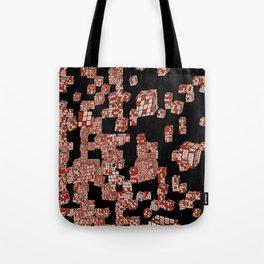 Diced Tote Bag