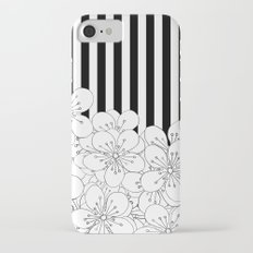 Cherry Blossom Stripes - In Memory of Mackenzie Slim Case iPhone 7