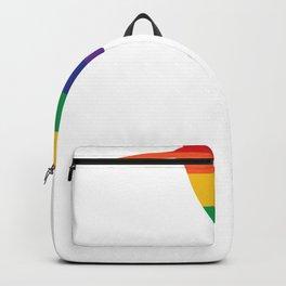 Pride Hummingbird Rainbow Hummingbird LGBT Backpack
