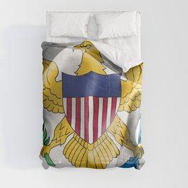 United States Virgin Islands Flag Comforters