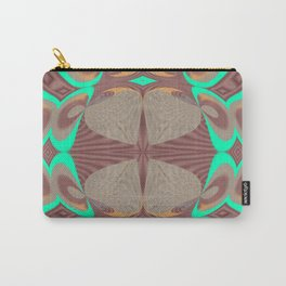 Pallid Minty Pattern 9 Carry-All Pouch