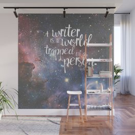 Victor Hugo Writer Quote Wall Mural