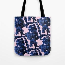 Orchid Print Tote Bag
