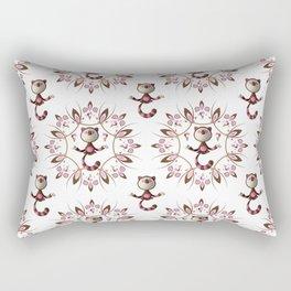 Neapolitan Guru Cat Rectangular Pillow