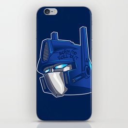 Full Metal Prime iPhone Skin
