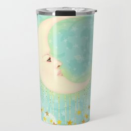 Woman in the Moon Travel Mug