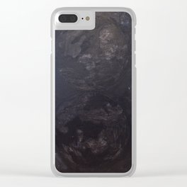 Solar Eclips Clear iPhone Case