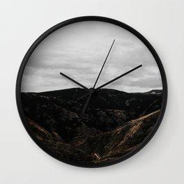 Inhalexhale Wall Clock