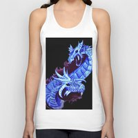 dragons Tank Tops featuring dragons by Sitara Shah