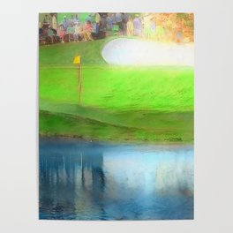The Masters Golf - The Masters 16th Hole - Augusta National Poster