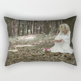 In the woods Rectangular Pillow
