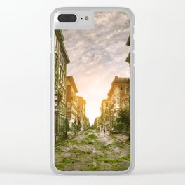 Life After People Italy Clear iPhone Case