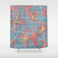 patrick Shower Curtains featuring Patrick by hoopderscotch