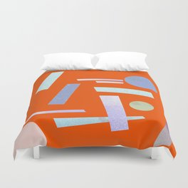 Geometry 2 Duvet Cover
