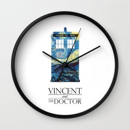 Vincent and the Doctor Wall Clock