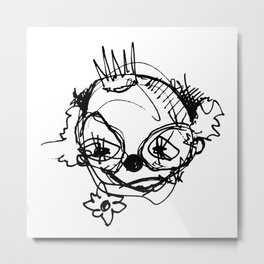 Clowns in Crowns #1 Metal Print