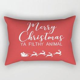 Merry Christmas filthy animal Rectangular Pillow