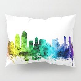 San Diego California Skyline Pillow Sham