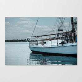 Sails on the Water Canvas Print