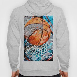 Modern basketball art 3 Hoody