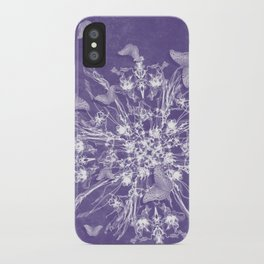 ghost bouquet and butterflies iPhone Case
