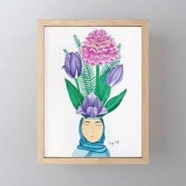 Bloom 4 Framed Mini Art Print